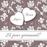 voorbeeld 25 jarig huwelijk Tekst 25 jaar getrouwd voorbeelden   Trouwpost.nl voorbeeld 25 jarig huwelijk